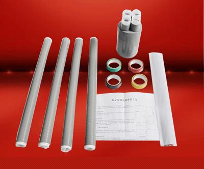 1KV硅橡胶冷缩电缆终端 四芯低压冷缩中间电缆附件